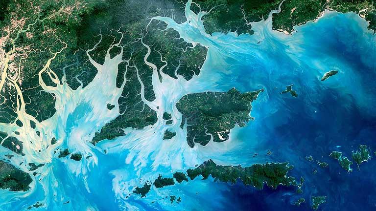 Immagini fotografiche della terra da Google Earth